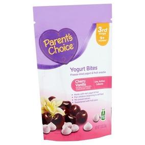 Parents Choice Chispas De Yogurt Cereza Vainilla Bebé