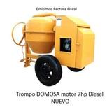 Trompo Mezclador Domosa Diesel 7hp Nuevo