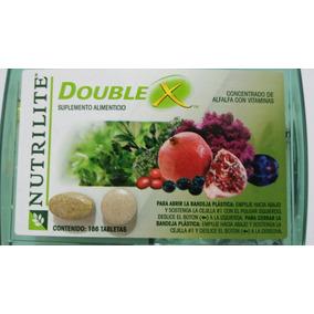 Double X Suplemento Alimenticio Vitaminas Minerales 186 Tab.