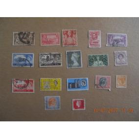 Estampillas Postales De La Realeza Inglesa