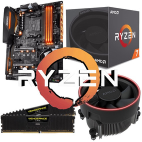 Combo Am4 Ryzen 7 1700 + Gigabyte Ax370 Gaming K7 + 2x8gb