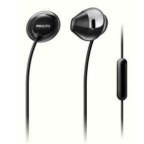 Auriculares Philips She4205bk/00 Negro