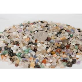 Pedras Mistas Roladas Semi Preciosas 1/2 Kg Pequenas