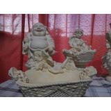 Estatuas Angeles Hadas Fuentes Budas Elefantes Liquido Stock
