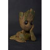Baby Groot 10cm! Guardianes De La Galaxia Maceta