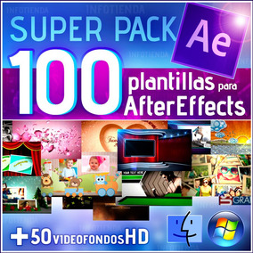 Pack De Plantillas After Effects Editables En Oferta