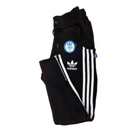 Pantalon Adidas Con Botones Original Mujer - Ropa y Accesorios Gris ... 34a0f2635340