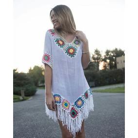Vestidos Tunicas Playa Tejidos Crochet Verano