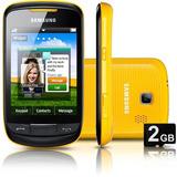 Celular Samsung Corby Ii Gt-s3850 Câmera 2m Amarelo