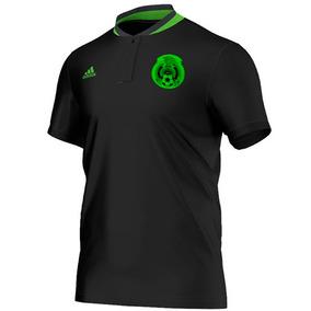 Playera Polo Seleccion De Mexico Hombre adidas M36375