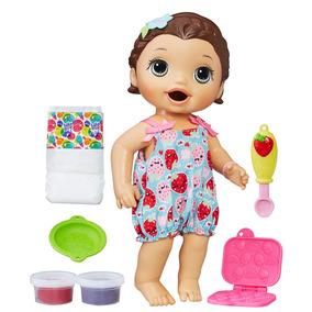 Boneca Baby Alive - 30 Cm - Morena - Lanchinhos Divertidos -