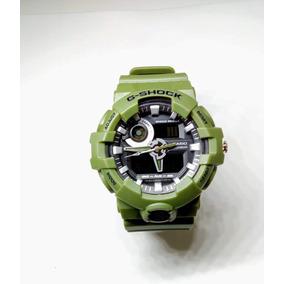 fa9b37f1602 Relogio G Shock Ga 700 Verde - Relógios no Mercado Livre Brasil