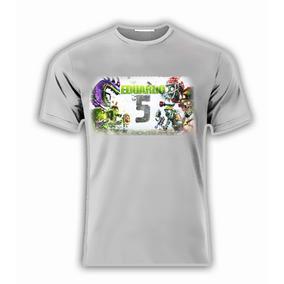 Playera Personalizada Plants Zombies Warfare P/fiesta!!!