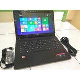 Laptop Lenovo G41-35 Amd A8 (igual O Mejor Que La Core I5)