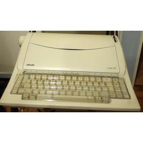 Máquina De Escribir Eléctrica Antigua Olivetti Línea 101