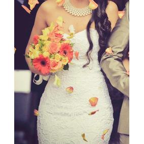 Vestido De Noiva Sereia Tomara Que Caia Todo De Renda