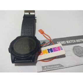 82ca56b29d4 Relógio Skmei 1206 Led Digital Ultrafino 8mm  usado