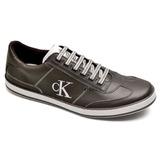 Tênis Calvin Klein Sapatenis Sapato Masculino Couro Conforto