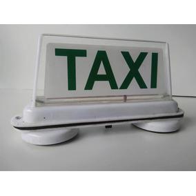 Luminoso Táxi Com Bateria Recarregável E Cabo