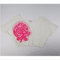 Bellisima Blusa Blanca Para Dama Rue 21 Talla Mediana