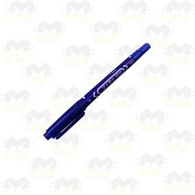 Caneta Azul Desenho Trilha Em Placa De Circuito Impresso Pcb