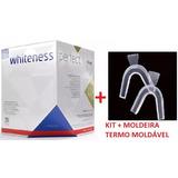 Kit Clareamento Caseiro Whiteness Perfect 22% + Moldeira