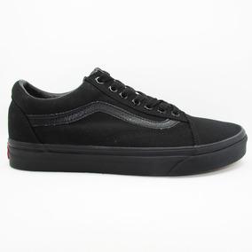 Tenis Vans Casual Old Skool Mono Vn-000d3hbka Black/black