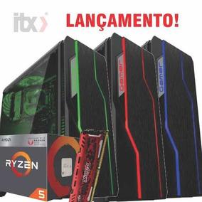 Pc Gamer Amd Ryzen 5 2400g Vega Graphics 11, 8gb Ddr4 1tb