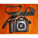 Camara Nikon D50 Profesional Reflex, Solo Cuerpo