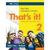 That´s It 2 - Student´s + Workbook - Pearson