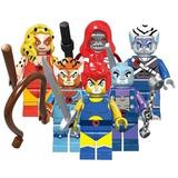 Leono Chetara Mumra Pantro Thundercats Compatible Con Lego