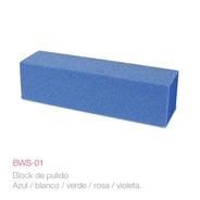 Pack X 6 Un. Bloque De Pulir, Varios Colores Bw2-01 Raffiné