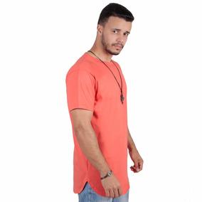 Camiseta Camisa Blusa Oversized Longline Masculina Swag
