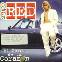 Cumbia De Los 90-grupo Red-cd Original-el Color De Tu Corazo