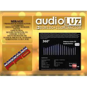 Efecto Audiorritmico Led Con Control Mirage American Pro