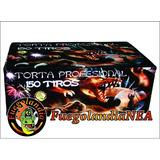 Torta 150 Tiros Profesional - Fuegos Artificiales -