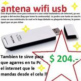 Placa De Red Usb -adaptador Wirreless-antena Wifi Tp-link
