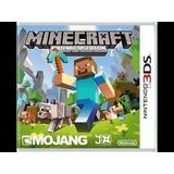 Juego Nintendo 3ds Minecraft