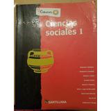 Ciencias Sociales 1. Conocer. Santillana.
