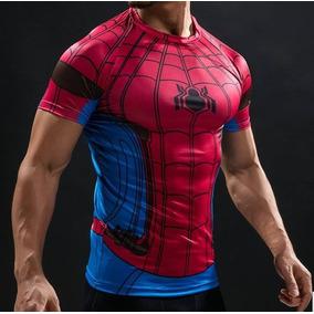 Remeras Compresion Spider-man Hombre Araña Marvel