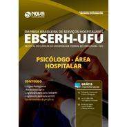 Apostila Ebserh Ufu 2020 Psicólogo Área Hospitalar