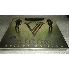 Wisin Y Yandel Los Vaqueros El Regreso Cd+dvd Deluxe Editio