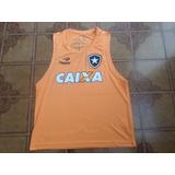 Camisa Botafogo Colete Laranja Usado Tamanho G