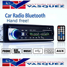 Radio Bluethooth Para Carro Usb Auxiliar Sd  Pantalla Lcd