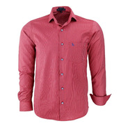 Camisa Social Masculina Amil Tec Misto Fácil De Passar 1668