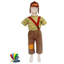 Disfraz Chavo Del 8 Niño Talla 4