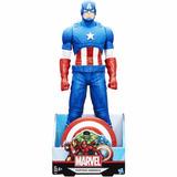 Marvel Titan Heroes Capitão América Hasbro Original 50cm!!