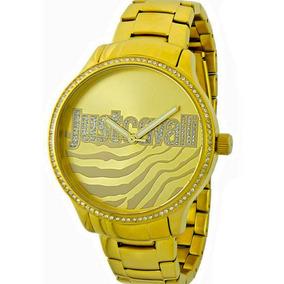 804bf892ebe61 Promoco Relogio Just Cavalli Dourado - Relógios De Pulso no Mercado ...