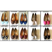 Zapatillas Tipo Toreritas Para Damas Diferentes Tallas