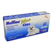 Helfine Plus Para Cães Vermífugo Agener União